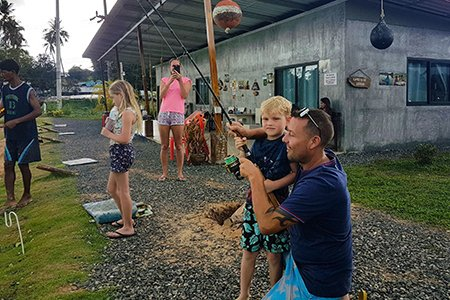 Chalong Fishing Park Family