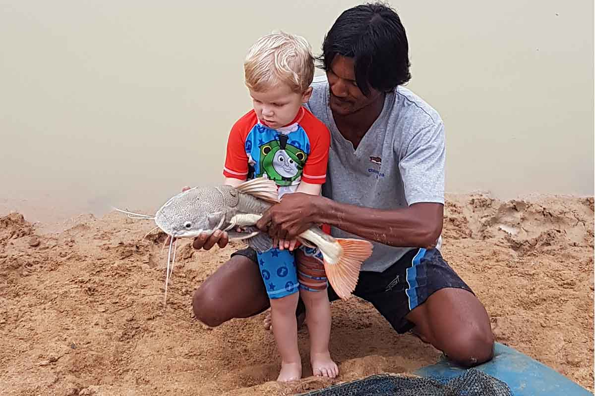 Chalong Fishing Park Toddler friendly