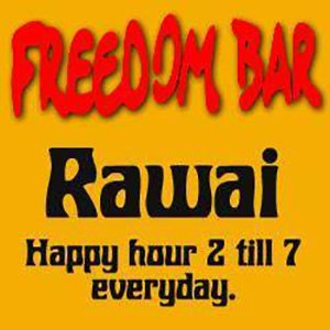 Freedom Bar Rawai friends with Chalong Fishing Park